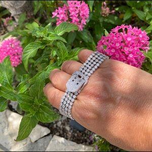 Jewelry - Sterling Silver Belt Style Bracelet